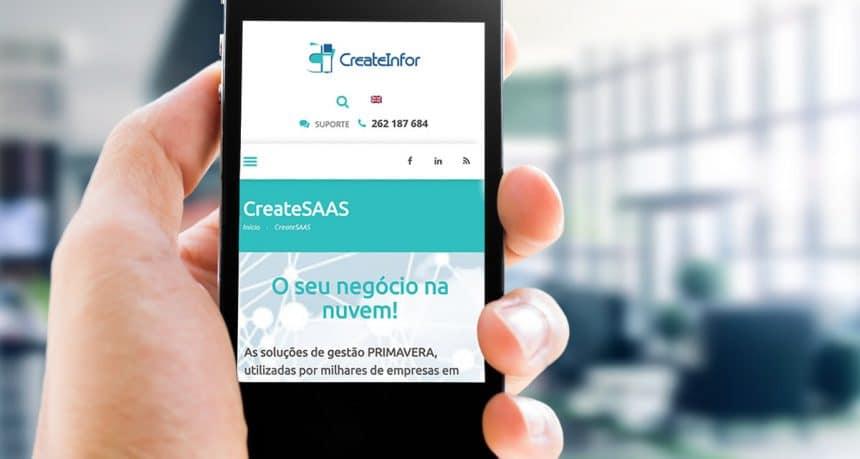 CreateInfor lança novo site e reforça presença nas redes sociais