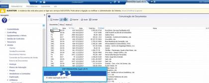 Demonstração da Criação ficheiro SAFT Software Primavera