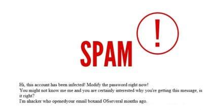"""Recebeu um email a dizer """"This account was infected?"""" Não se preocupe!"""